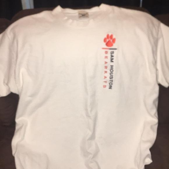 Vintage Shirts Embroidered Sam Houston University Bearkat Poshmark